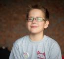 Самый молодой волонтёр фонда — Арсений
