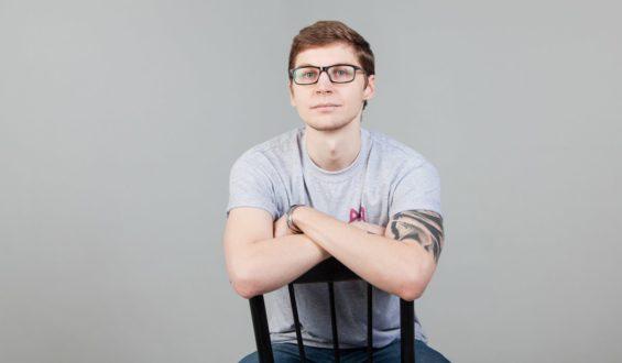 Волонтёр Дмитрий